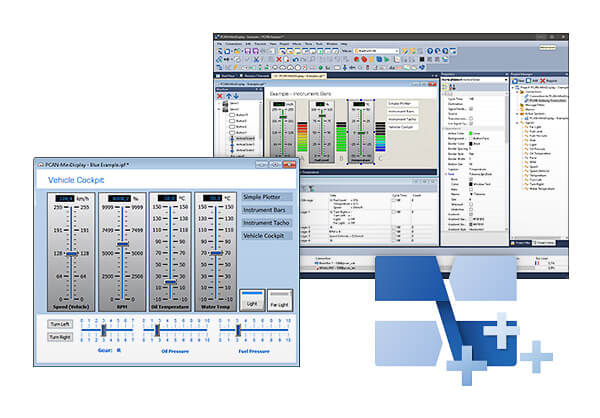 PCAN-Explorer 6: Instruments Panel Add-in 6